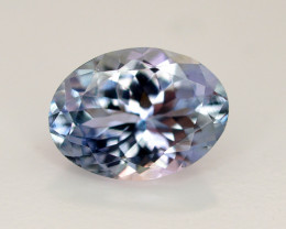 Brilliant Color 2.90 Ct Natural Tanzanite