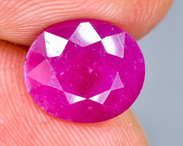4.15 Crt Natural Ruby  Faceted Gemstone.( AB 63)