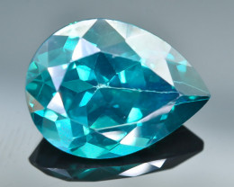 9.24 Crt Natural Topaz Faceted Gemstone.( AB 63)