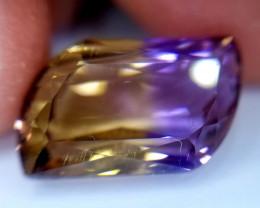 Ametrin, 10.25ct, VVS, a very nice stone!!