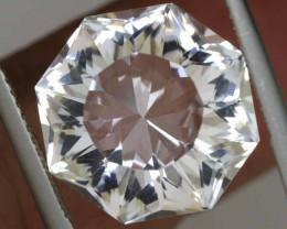 9.40 CTS  VVS QUALITY  WHITE QUARTZ FACETED  CG-2936
