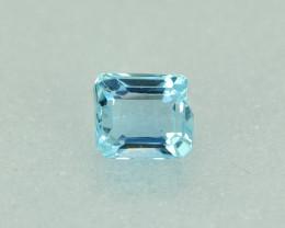 0.97 Cts Stunning Lustrous Natural Aquamarine