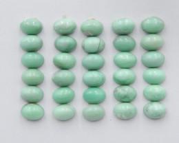 22cts Tiny Turquoise ,Handmade Gemstone ,Turquoise Cabochons G309