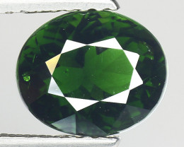 1.97 Ct Natural Green Green Diopside Good Quality Gemstone CD1