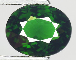 1.29 Ct Natural Green Green Diopside Good Quality Gemstone CD4