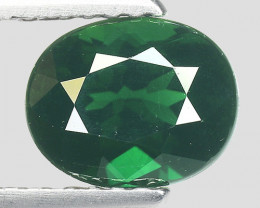 1.28 Ct Natural Green Green Diopside Good Quality Gemstone CD8