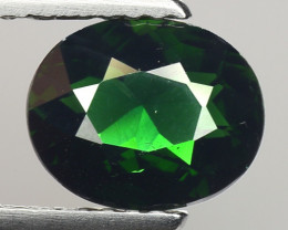 1.29 Ct Natural Green Green Diopside Good Quality Gemstone CD16