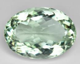 12.55 Cts Amazing Rare Natural Green Amethyst Loose Gemstone