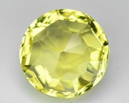 7.93 Cts Amazing Rare Yellow Natural Prasolite Lemon Quartz