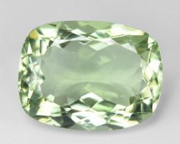 11.26  Cts Amazing Rare Natural Green Amethyst Loose Gemstone