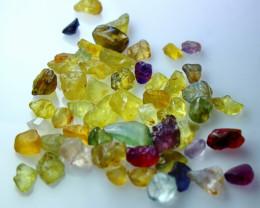 51.70 CT Natural - Unheated Multi Sapphire Rough Lot