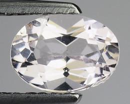 1.62 Ct Natural Morganite Stunning Luster Gemstone. M1