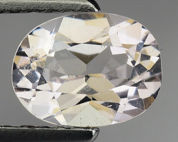 0.89 Ct Natural Morganite Stunning Luster Gemstone. M5