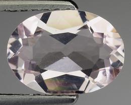 1.07 Ct Natural Morganite Stunning Luster Gemstone. M23