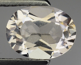 0.95 Ct Natural Morganite Stunning Luster Gemstone. M25