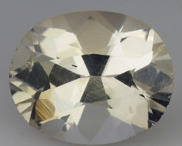 4.84 CT WHITE TOPAZ TOP CLASS LUSTER PAKISTAN  WT11