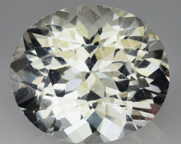 8.68 CT WHITE TOPAZ TOP CLASS LUSTER PAKISTAN  WT14