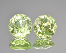 Natural Peridot 7.08 Cts Matching Pair, Suppat Mine, Pakistan