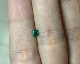0.22 rectangular cut emerald usd200