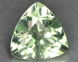 0.90 Cts Unheated Mint Green Color Natural Tourmaline Gemstone
