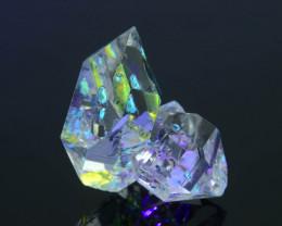 Rare 15.45 ct Natural Fluorescent Petroleum Quartz SKU.1
