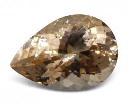 3.96 ct Pear Morganite