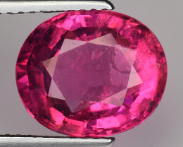 3.96 CT NATURAL RUBELITE  AWESOME QUALITY AFRICA RB22