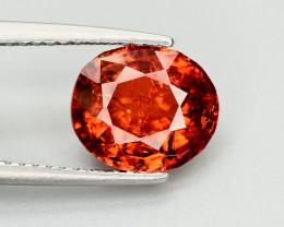 3.35 Ct Natural Orange Color Spessartite Garnet Gemstone