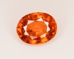 2.30 Ct Natural Orange Color Spessartite Garnet Gemstone