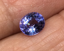 1.09 Carat VVS Tanzanite Violet Blue Precision Cut and Polished !