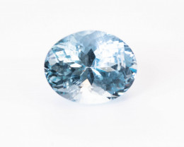 Aquamarine 3.35 ct Madagascar GPC Lab