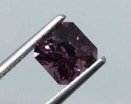 1.30 Carat VVS Spinel Burmese Purple Master Radiant Cut !