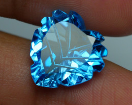 10.020 CRT LOVELY SWISS BLUE TOPAZ VERY CLEAR-
