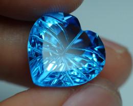 11.005 CRT LOVELY SWISS BLUE TOPAZ VERY CLEAR-