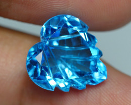 9.440 CRT LOVELY SWISS BLUE TOPAZ VERY CLEAR-