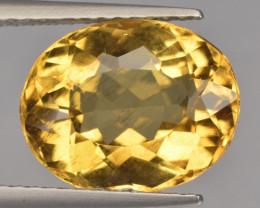 3.39 Cts Amazing Rare Golden Yellow Natural Beryl Loose Gemstone