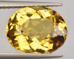 3.17 Cts Amazing Rare Golden Yellow Natural Beryl Loose Gemstone