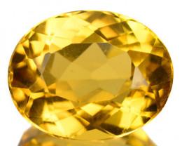 3.12 Cts Amazing Rare Golden Yellow Natural Beryl Gemstone