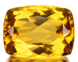 3.75 Cts Amazing Rare Golden Yellow Natural Beryl Loose Gemstone