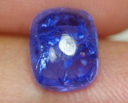 3.775 CRT WONDERFULL TANZANITE CABS TOP COLOR GEMSTONE-