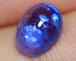 1.895 CRT WONDERFULL TANZANITE CABS TOP COLOR GEMSTONE-