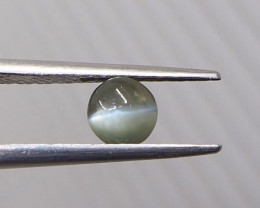 0.84ct Chrysoberyl cat's eye