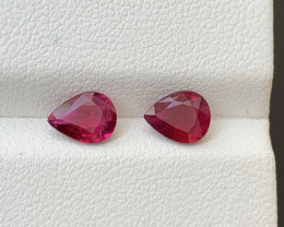 1.40 Carats Natural Rubellite Tourmaline Gemstone