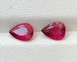 1.70 Carats Natural Rubellite Tourmaline Gemstones