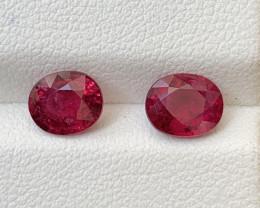 1.95 Carats Natural Rubellite Tourmaline Gemstones
