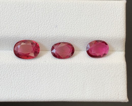 2.50 Carats Natural Rubellite Tourmaline Gemstones
