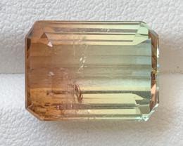 11.45 Carats Natural Bi Color Tourmaline Gemstone
