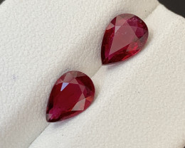2 Carats Natural Rubellite Tourmaline Gemstones