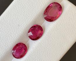 3.40 Carats Natural Rubellite  Tourmaline Gemstones