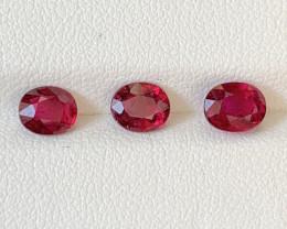 2.25 Carats Natural Rubellite  Tourmaline Gemstones